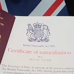 Settlement and Naturalisation